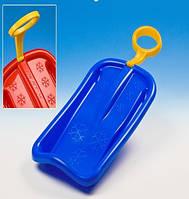 Детские пластиковые санки с ручкой Marmat Arrow