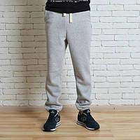 Теплые спортивные штаны мужские  Red and Dog Pou Grey