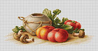 Набор для вышивки крестом Luca-S B2249 Натюрморт с овощами