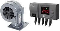 Блок управления TAL ELEKTRONIK CS-20 + вентилятор DP-02 для твердотопливных котлов