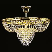Хрустальная люстра для зала, спальни на 7 лампочек