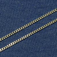 Серебряная цепочка Панцирная тонкая 010043