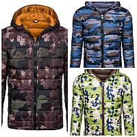 Мужская зимняя куртка в стиле милитариа