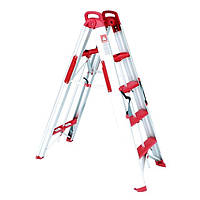 Лестница-стремянка раскладная трансформер INTERTOOL LT-5000