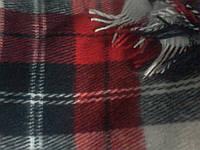 Плед теплый ,шерстяной 170х210 см  S881