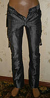 Подростковые джинсы для мальчика темно-серого цвета р 28-30