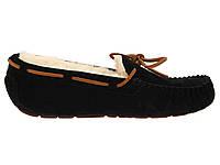 Женские  UGG Dakota Slipper Black , женские угги австралия мокасины зимние черные оригигал