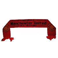 Шарфик зимний для болельщиков Manchester United