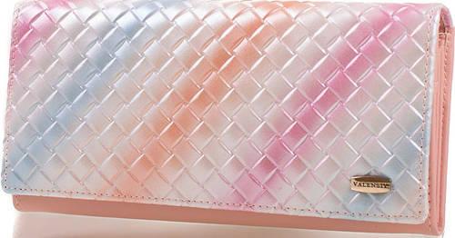 Нежный  женский кожаный кошелек VALENSIY (ВАЛЕНСИ) DSA01318038-pink (розовый)