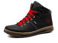 """Ботинки мужские зимние """"GS-comfort"""", кожаные,темно-синий, фото 1"""