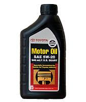 Масло моторное Toyota Motor Oil API SN 5W-20 ✔ 0.946л