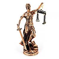 Фемида - символ правосудия, высота 21см