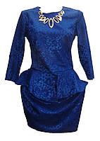 Женское платье гепюр