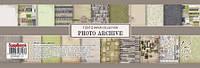 """Набор бумаги """"Фото архив (англ)"""" Photo archive, 30,5*30,5, Scrapberries SCB 220606900b"""