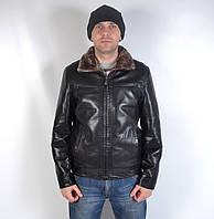 Тепла  чоловіча  зимова   куртка на  хутрі