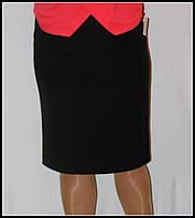 Классическая женская юбка черного цвета