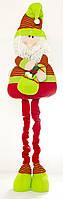 Мягкая новогодняя игрушка Дед Мороз 117см