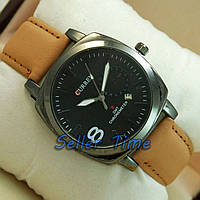 Curren Militari 8139 Brown/Black silver/Black