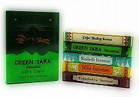 Аромапалочки - благовония Green tara (набор тибетских благовоний)