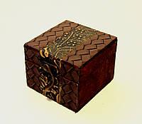 Шкатулка-сундук  деревянная