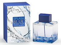 Мужская туалетная вода Antonio Banderas Splash Blue Seduction for Men, 100 мл
