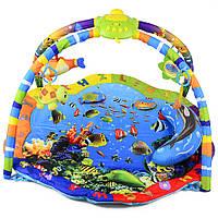 Развивающий коврик для детей Океанариум T58-001
