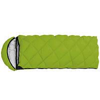 """Спальный мешок туристический """"Peak"""" с капюшоном салатовий"""