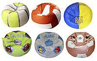 Бескаркасное Кресло мяч пуфы мягкая мебель для детей