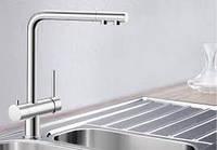 Смеситель кухонный Blanco Fontas (хром)