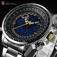 Мужские часы SHARK Sport Stainless Steel LCD