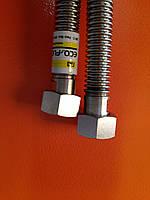 Гофрированный шланг газ 3/4 гг 100 см. Eco-flex