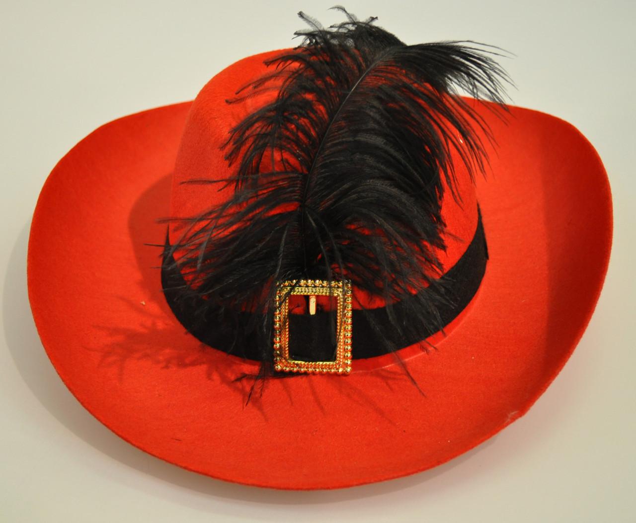 Шляпа с перьями своими руками 743