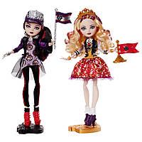 Куклы эвер афтер хай в наборе Эппл Вайт и Рейвен Квин из серии Командный дух.
