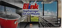 Губки для мытья посуды и нержавейки Blink Topfreiniger mit griffleiste 3 шт