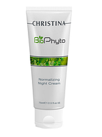 Нормализующий ночной крем Christina NEW Bio Phyto Normalizing Night Cream 75 мл