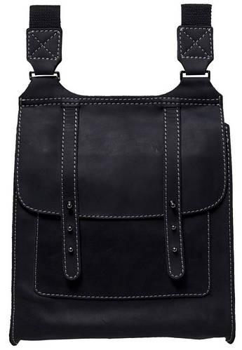 Оригинальная мужская кожаная сумка Black Brier C-1-35 черный