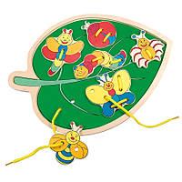 Прошивка листок с метеликами-Filino                      29x21,5x1 cm