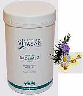 Соль для ножных ванн с травами / Herbal foot salt bath