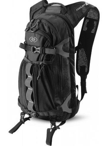 Качественный компактный спортивный рюкзак 8 л. Trimm COOLER black черный