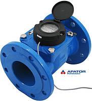 Водосчетчик Apator PoWoGaz MWN-100-NK (ХВ) с импульсным выходом турбинный Ду-100 сухоход промышленный