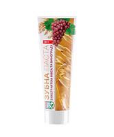 Натуральная зубная паста с экстрактом овса посевного и красных сортов винограда. Авиценна.