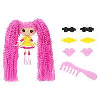 Кукла Minilalaloopsy серии Кудряшки-симпатяшки - Печенюшка-сладкоежка  (с аксессуарами)