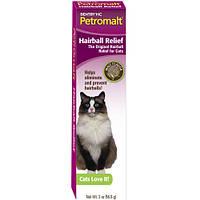 Паста для кошек со вкусом солода SENTRY Petromalt Hairball Relief, ВЫВЕДЕНИЕ ШЕРСТИ, 0.056 кг