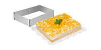 Регулируемая форма для торта прямоугольная DELICIA