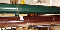 Труба водосточная цветная оцинкованная Ø 100 мм Х1000мм