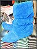 Модные махровые сапожки для дома