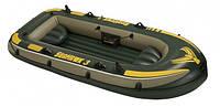 Надувная лодка Intex Seahawk Boat 3 Sport Series