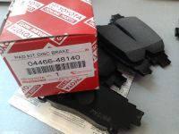 Колодки тормозные задние LEXUS RX270/350/450H  оригинальный номер 04466-48140