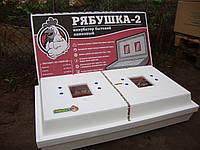 Инкубатор Рябушка -2 на 130 яиц механический переворот с цыфровым терморегулятором