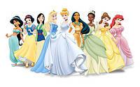 """Вафельные картинки """"Принцессы"""" А4 (код 01262)"""